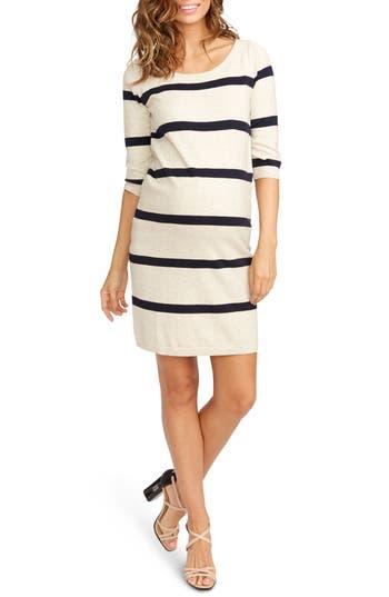 Women's Rosie Pope 'Harper' Stripe Maternity Sweater Dress