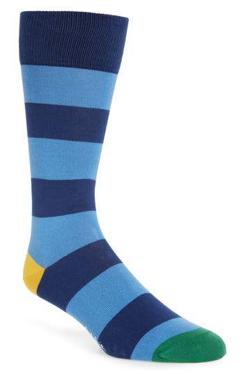 Men's Paul Smith Parton Socks, Size One Size - Blue