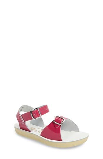 Toddler Girls Salt Water Sandals By Hoy Surfer Sandal Size 9 M  Pink