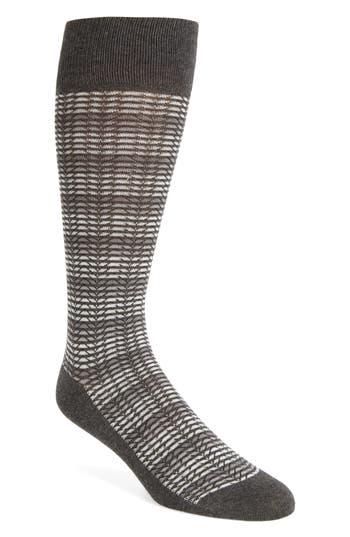 Men's Calibrate Herringbone Stripe Socks