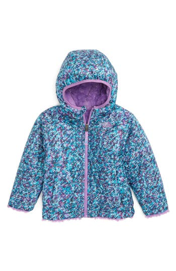 Toddler Girl's The North Face Mossbud Reversible Heatseeker™ Wind Resistant Jacket