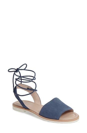 Women's M4D3 Paige Ankle Wrap Sandal, Size 6 M - Blue