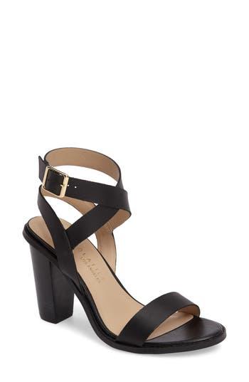 Women's Very Volatile Poshy Ankle Wrap Sandal, Size 9 B - Black