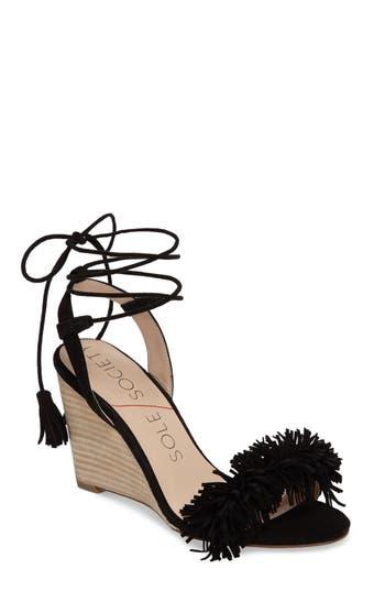 Women's Sole Society Rosea Ankle Wrap Sandal