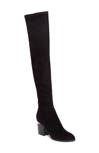 Alexander Wang Gabi Over The Knee Boot - Black