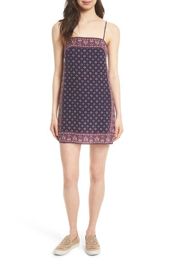 Women's Joie Adryel Print Slipdress, Size Small - Blue