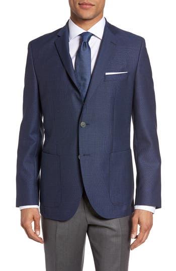 Boss Janson Trim Fit Textured Wool Sport Coat