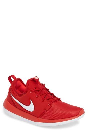 Men's Nike Roshe Two Sneaker, Size 10 M - Red