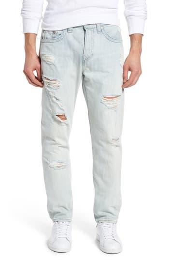 Big & Tall True Religion Brand Jeans Dean Slim Fit Jeans, Blue