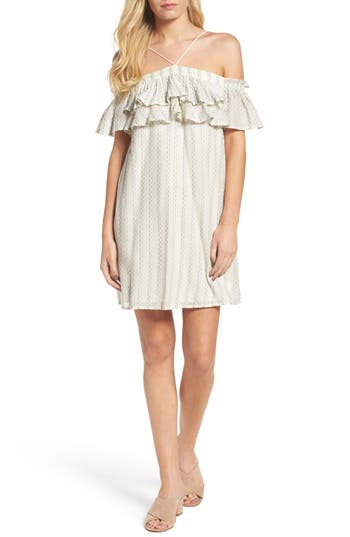 Greylin Avery Off The Shoulder Dress, Ivory
