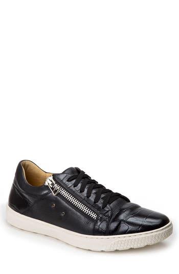 Sandro Moscoloni Cassius Side Zip Sneaker, Black