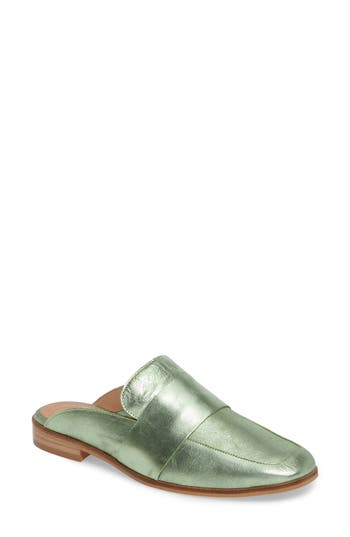 Free People At Ease Loafer Mule - Green
