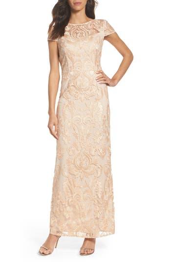 Alex Evenings Lace Column Gown