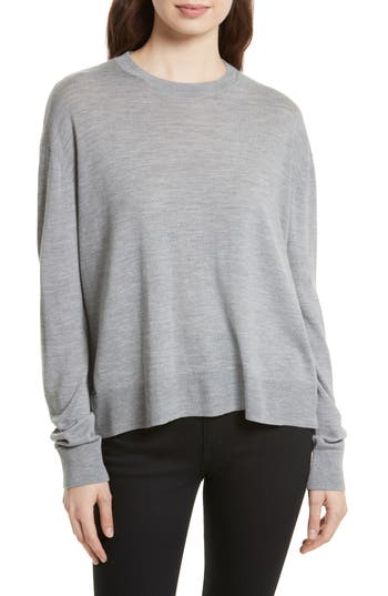 Equipment Irene Wool Blend Sweater, Grey