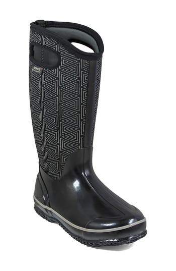 Bogs Classic Triangles Waterproof Subzero Insulated Boot