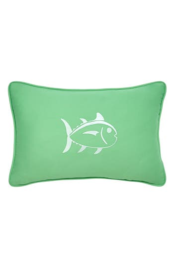 Southern Tide Skipjack Fish Accent Pillow, Size One Size - Green