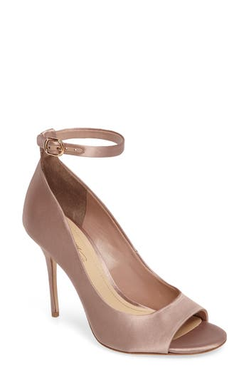 Imagine By Vince Camuto Rielly Ankle Strap Sandal, Beige