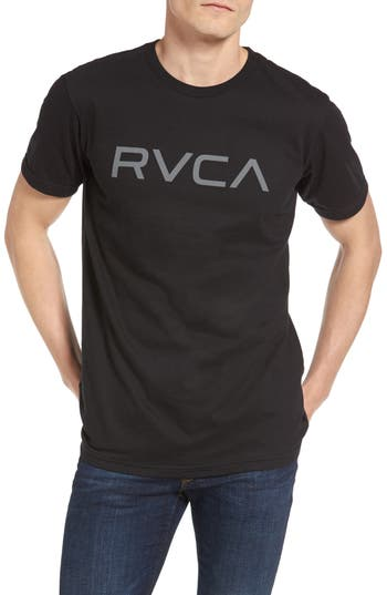 Rvca Big Rvca Graphic T-Shirt, Black