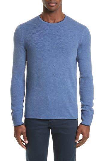 Rag & Bone Merino Wool Blend Pullover, Blue