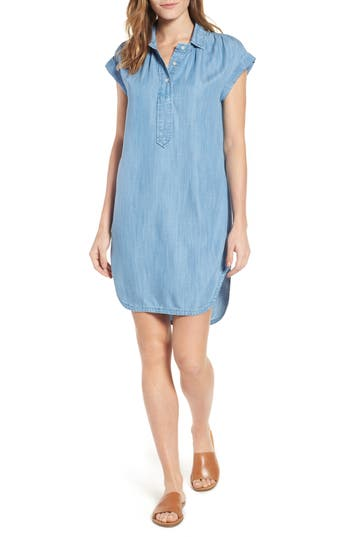 Vineyard Vines Chambray Shirtdress, Blue