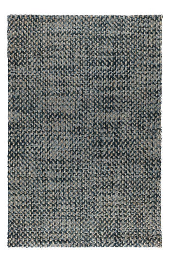 Villa Home Collection Ladera Bold Indigo Jute Area Rug, Size Swatch - Blue
