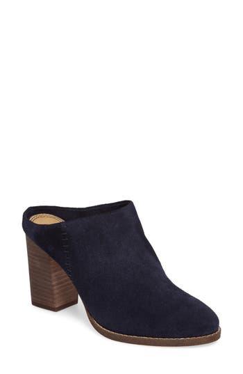 Women's Splendid Debrah Block Heel Mule, Size 5 M - Blue