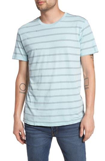 Rvca Double Stripe T-Shirt, Grey