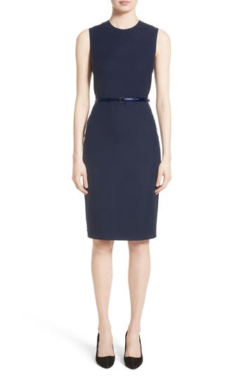 Max Mara Glassa Sheath Dress, Blue