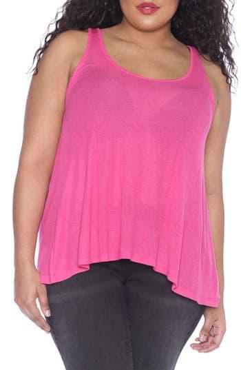 Plus Size Women's Slink Jeans Tank, Size 0X - Purple