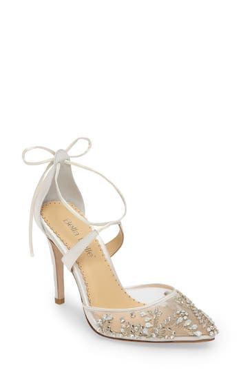 BELLA BELLE | Women's Bella Belle Florence Embellished Bow Sandal | Goxip
