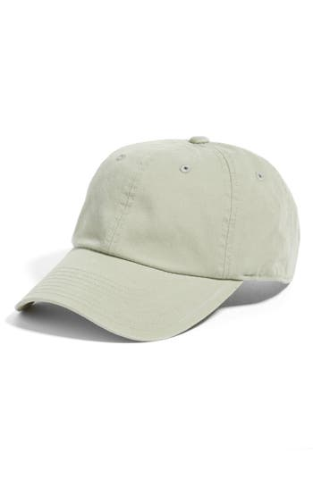 AMERICAN NEEDLE | Women's American Needle Washed Cotton Baseball Cap - Green | Goxip