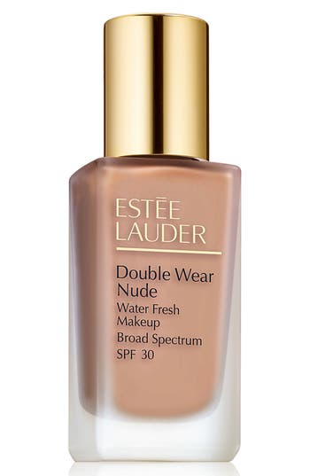 Estée Lauder Double Wear Nude Water Fresh Makeup Broad Spectrum Spf 30 - 3C2 Pebble