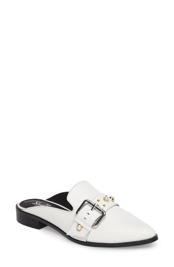 Shellys London Fatara Mule, White