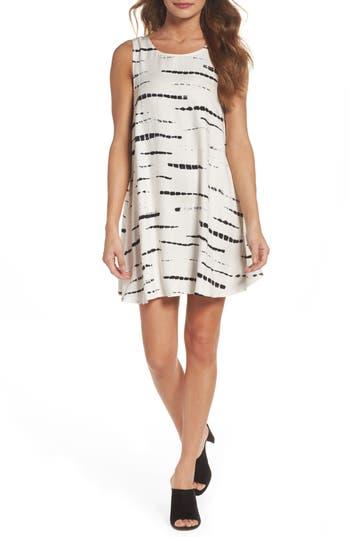 Bb Dakota Terra Knit Swing Dress, Ivory