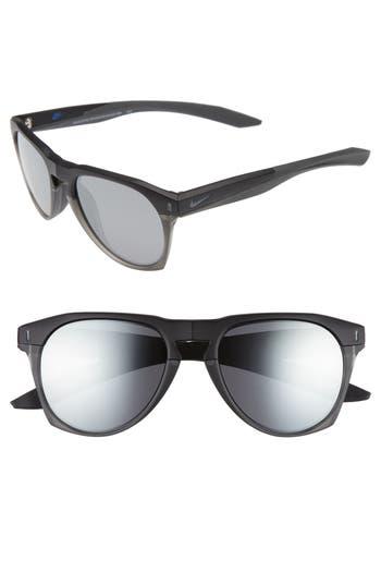 Nike Essential Navigator 5m Sunglasses - Matte Anthracite / Cargo Khaki