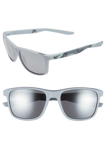 Nike Unrest Se 57Mm Sunglasses - Matte Wolf Grey / Grey Camo