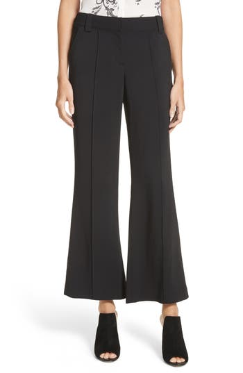 A.l.c. Felix Crop Flare Pants, Black