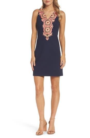 Lilly Pulitzer Gabby Sheath Dress, Blue