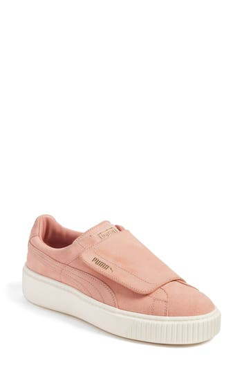 Puma Basket Platform Sneaker, Brown