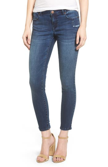 Women's 1822 Denim Ripped Skinny Jeans