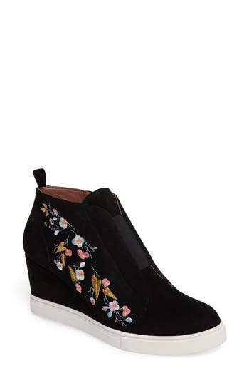 Women's Linea Paolo Felicia Ii Wedge Bootie at NORDSTROM.com