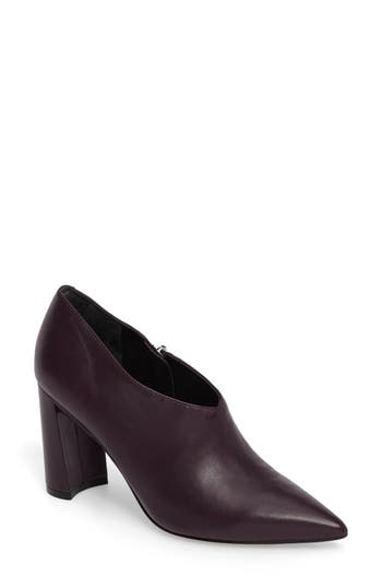 Marc Fisher Ltd Hoda Pointy Toe Bootie, Burgundy