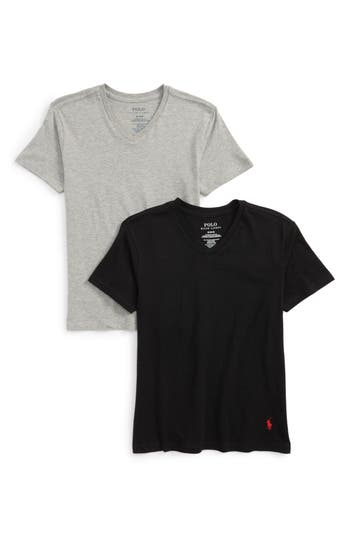 Boys Ralph Lauren 2Pack VNeck TShirts