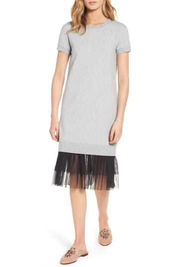 Women's Chelsea28 Ruffle Hem Midi Dress