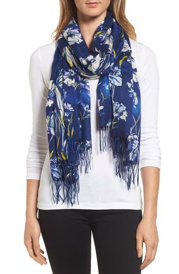 Women's Nordstrom Cambridge Print Wool & Cashmere Scarf