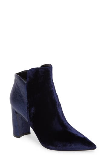 Marc Fisher Ltd Harper Pointy Toe Bootie, Blue