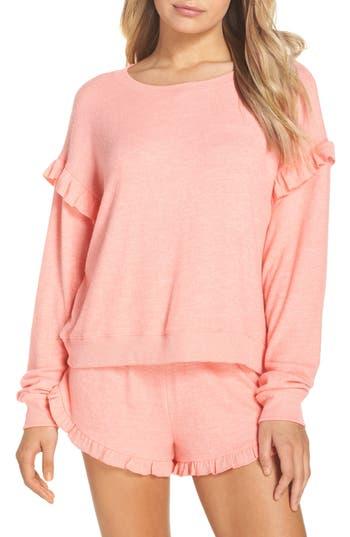 Women's Make + Model Cozy Ruffle Pullover