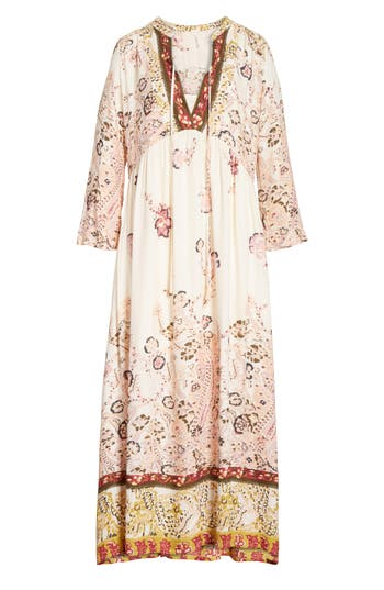 Free People If You Only Knew Peasant Dress, Ivory