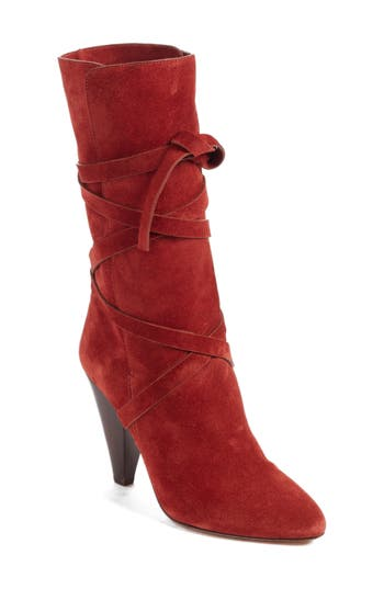 Women's Veronica Beard Hall Crisscross Tie Boot