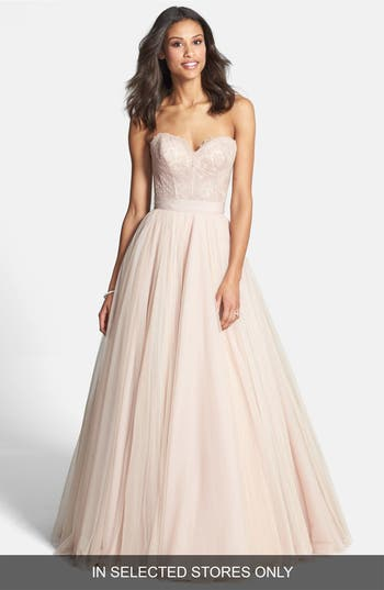 Watters Ahsan Tulle Skirt